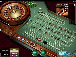 la roulette di Betflag